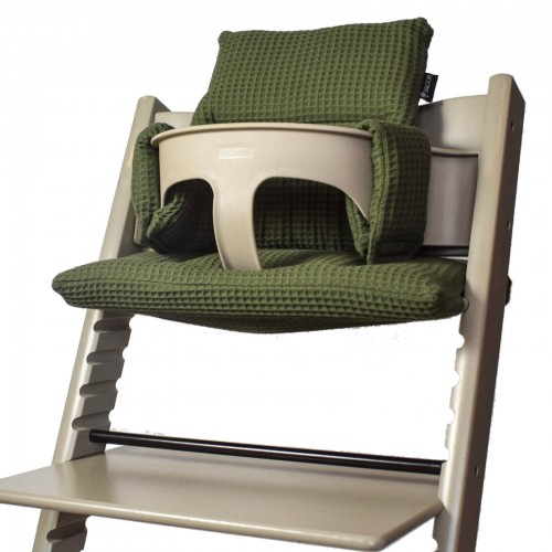 Tripp Trapp Kussenset wafel Army Green