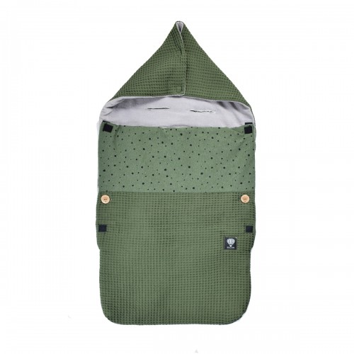 Zomer voetenzak wafel army - army dots