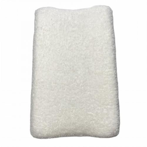 Aankleedkussenhoes teddy fur off white