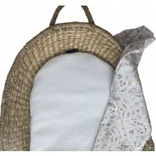 Verschoonmand matrasje waterafstotende stof (wit)